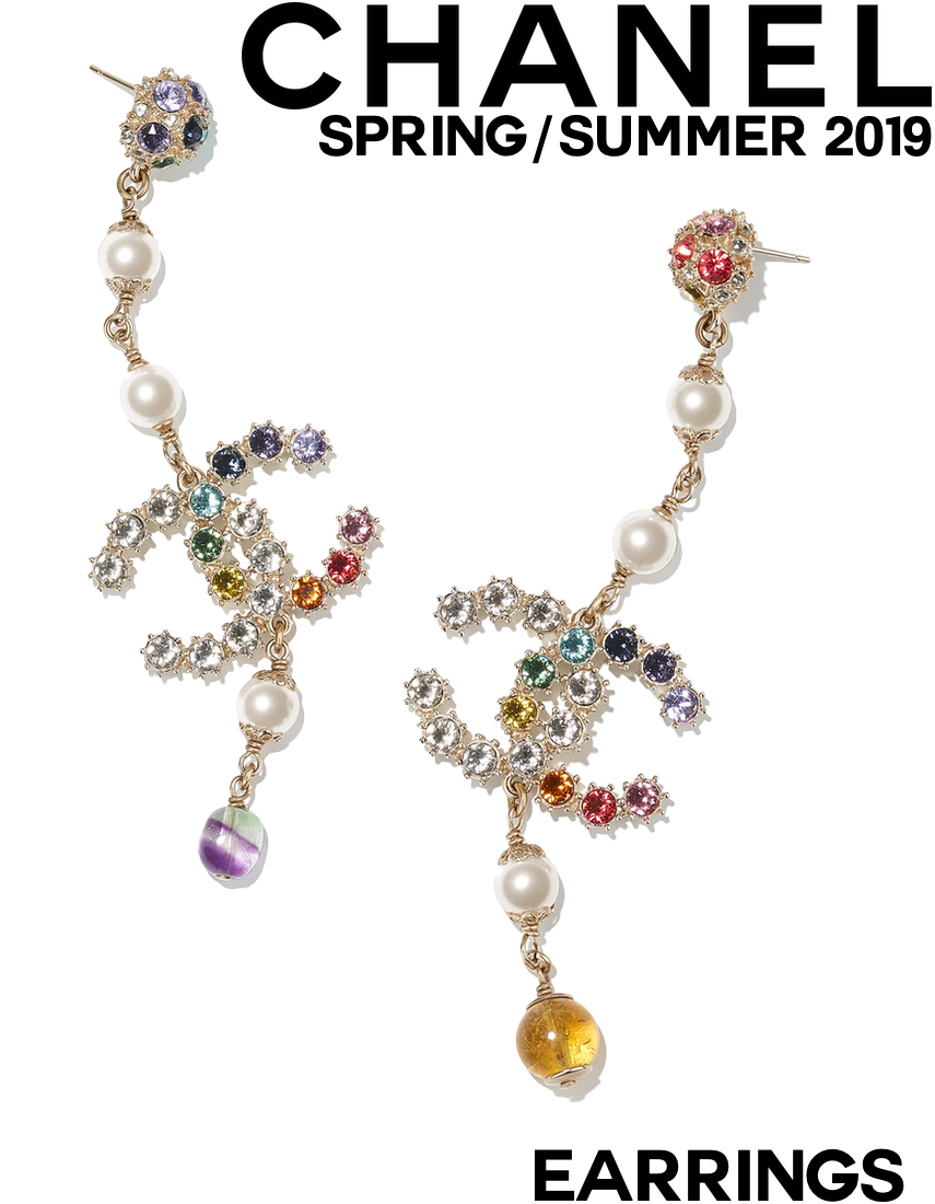 Lookandlovewithlolo Chanel Spring Summer 2019 Costume Jewelry