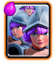 kartu Three Musketeers clash royale