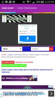 tampilan aplikasi android Nukeshop On Blogger