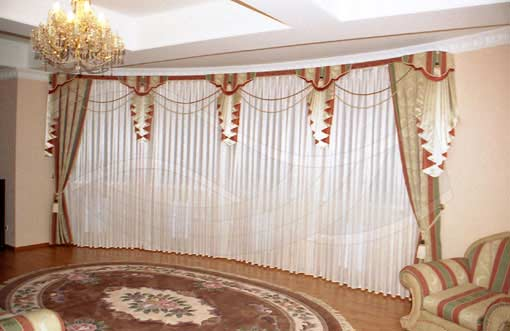 Classic Style Bedroom Curtain Style