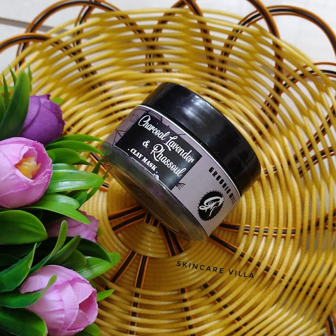 Greenie Mill Charcoal, Lavender Rhassoul Clay Mask Review