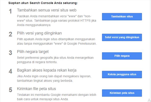 Berikutnya adalah melakukan langkah-langkah yang dikirimkan oleh webmaster tools di email anda.