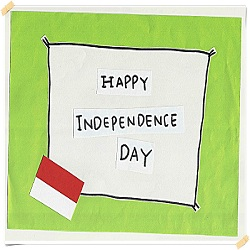 Hppy Independance Day Indonesia