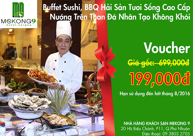 Voucher buffet