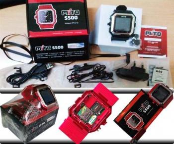harga hp jam tangan mito 2500 terbaru, spesifikasi lengkap dan detail ponsel jam tangan mito terbaru, dimana tempat beli hp mito s500?, gambar dan kelengkapan dus handphone mito s500