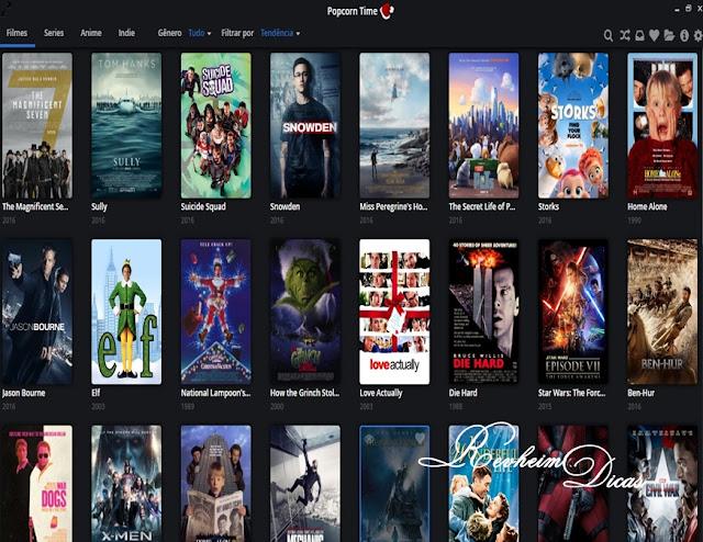 popcorn time, ver filme dublado no Popcorn Time, Magnet link, Teutorrent.com, ver filmes online, ver filmes de graça