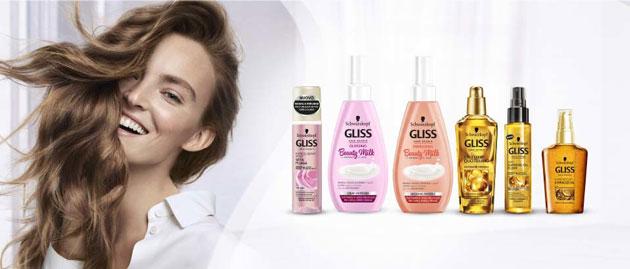 clicca qui per candidarti come tester dei prodotti Gliss Beauty Milk
