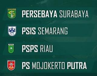 Jadwal Babak 8 Besar Liga 2 2017 Grup Y di Bandung