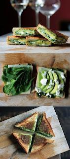 Alexandra & Co, Avocat, Nutrition, Santé, Recettes, Grilled cheese