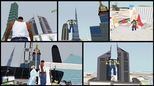 Free Download Dubai Graphics Mod Pack V2 for GTA San Andreas
