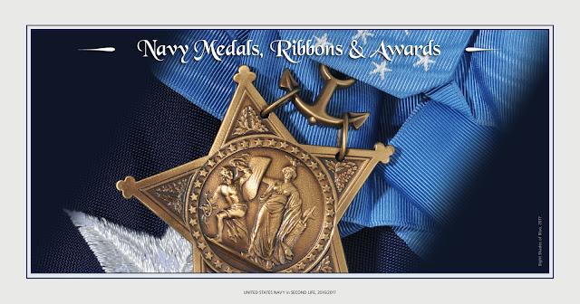 Third Fleet Medals and Awards
