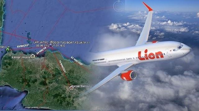 Innalillahi! Pesawat Lion Air Jt 610 Telah Ditemukan, Begini Kondisinya