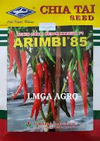 benih cabai, cabai besar, arimbi 85, cabai arimbi 85, cap kapal terbang, benih cabai arimbi 85 cap kapal terbang