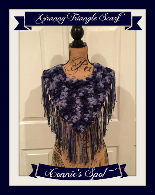Shop Connie's Spot© & Connie Hughes Designs© of Crochet Patterns & Finished Products!