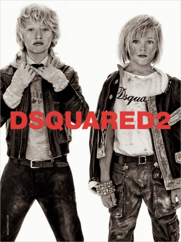 Dsquared2 Kids Campaign Spring Summer 2014