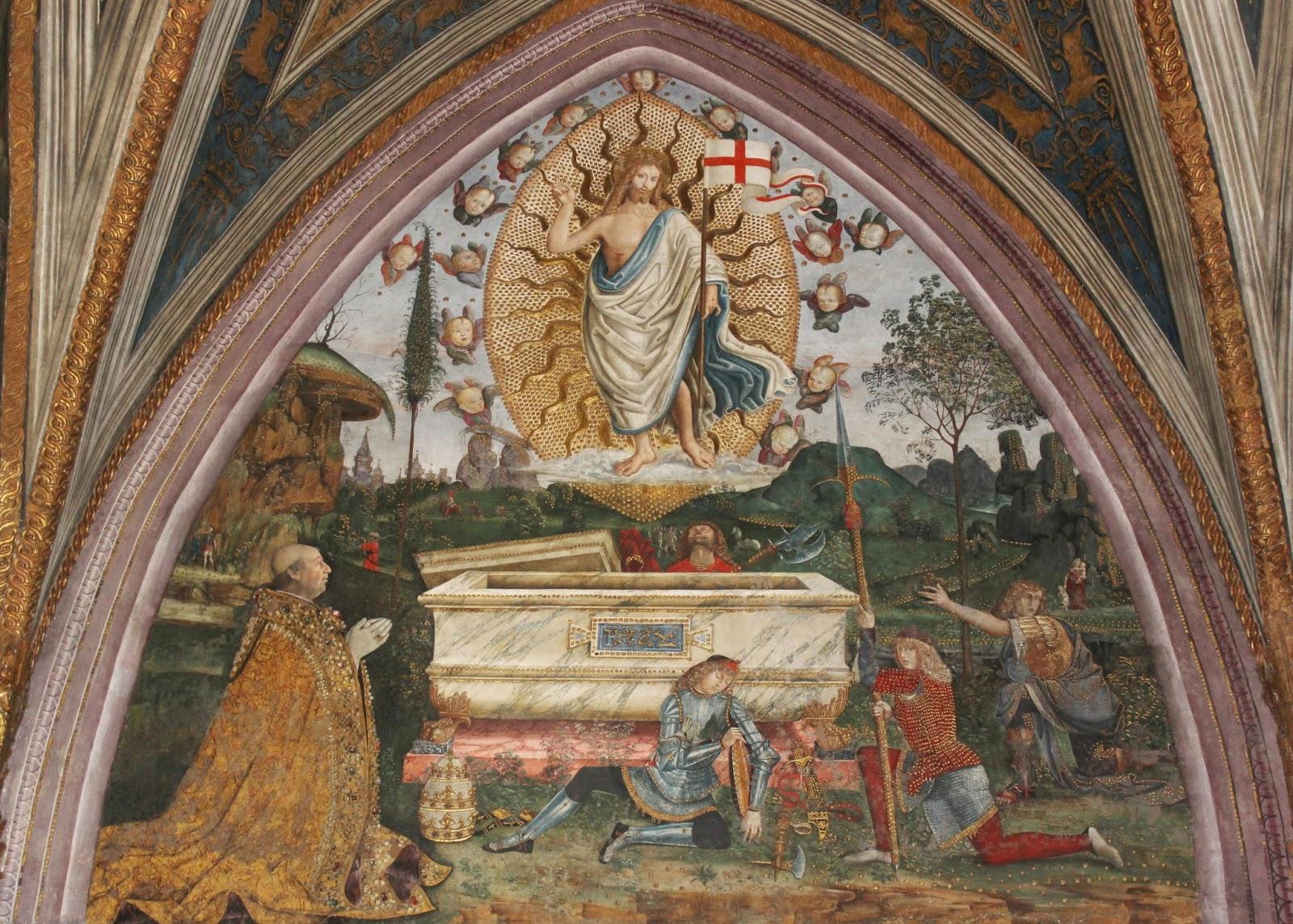 the roman anglican the borgia apartments in the vatican