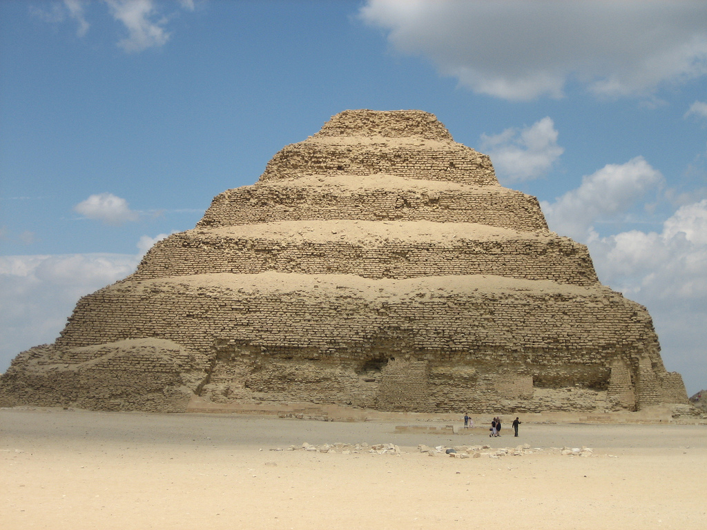 how to build a pyramid step by step