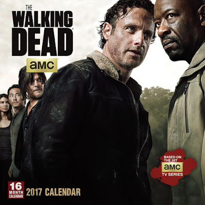 CAlendario The Walking Dead 2017