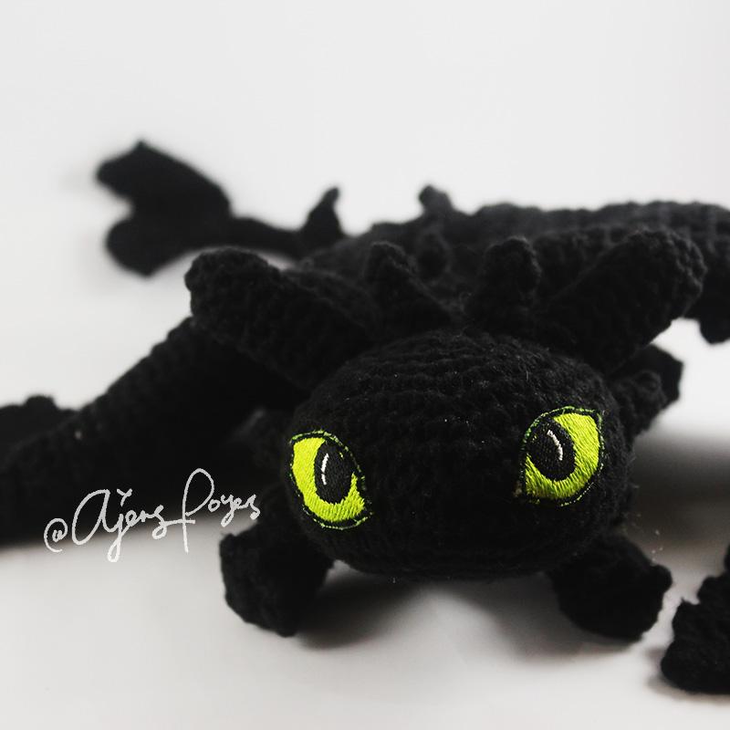 Ajeng Belajar Merajut Free Crochet Pattern Totoro Toothless