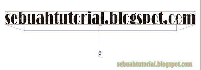 Cara Mudah Membuat Tulisan 3D Di CorelDraw