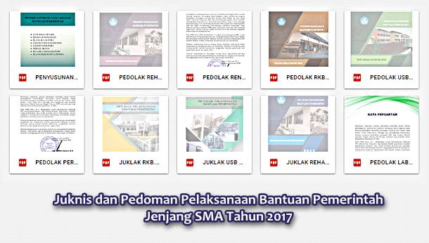 Juknis Pedoman Bantuan Pemerintah Jenjang Sma Tahun 2017 Berkas Edukasi