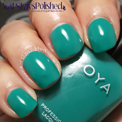 Zoya Island Fun - Cecilia | Kat Stays Polished