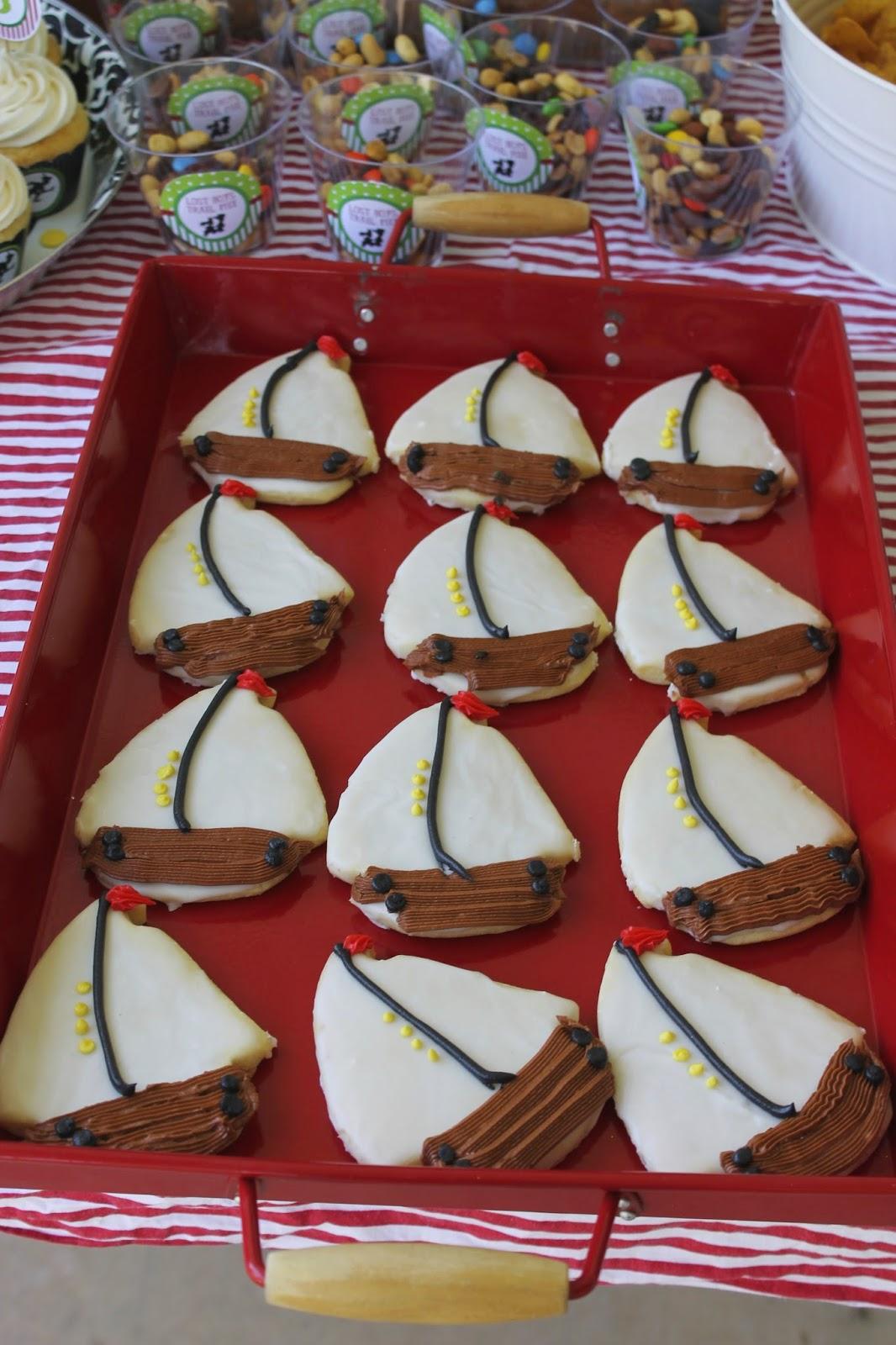 Peter Pan Party Cookies