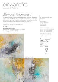 Einladung zur Ausstellung der Bilder von Birgit Boden