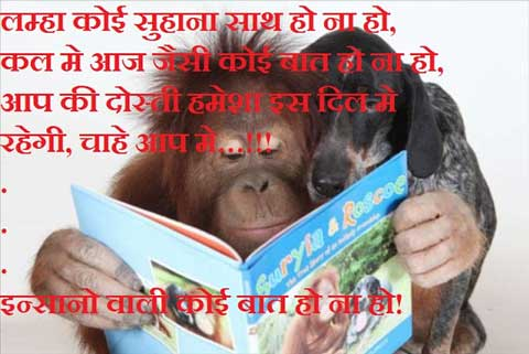 Funny Picture With Hindi Funny Poetry