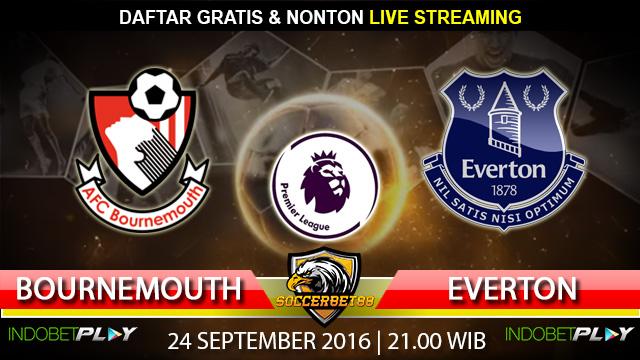 Prediksi Bournemouth vs Everton 24 September 2016 (Liga Inggris)