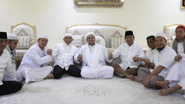 Foto dengan Prabowo-Habib Rizieq, Tiga Unggahan Amien Rais Dihapus Instagram