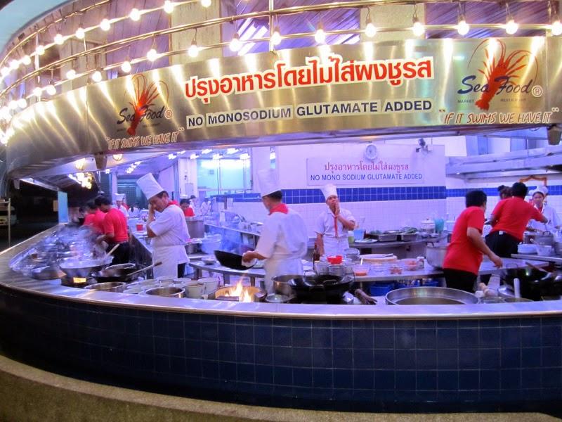 Ресторан в Бангкоке без Глютамата