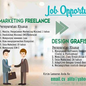 Lowongan Kerja di CV Alifa Makassar