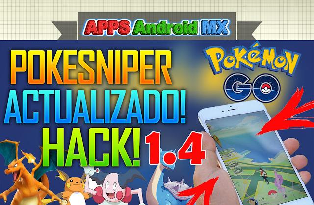 Pokesniper Actualizado hack! 1.4