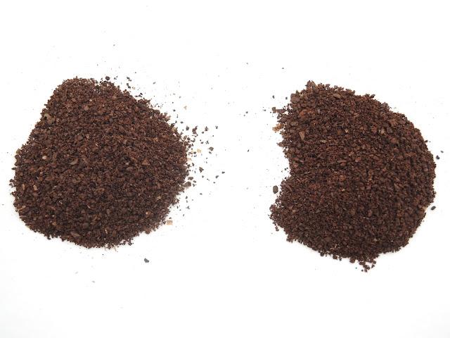 ザッセンハウスの刃とThe Coffee Mill 中挽き比較