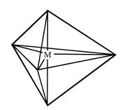 Bentuk molekul Trigonal bipiramidal