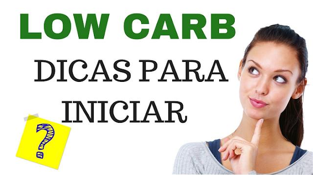 dicas para dieta low carb