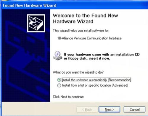 Installer le logiciel automatiquement