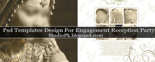 Elegant Wedding Album Design Psd