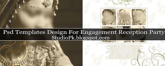 Elegant Wedding Album Design Psd