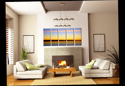 Contemporary Wall Decor Ideas For Bedroom With Beautiful Painting Best Photo