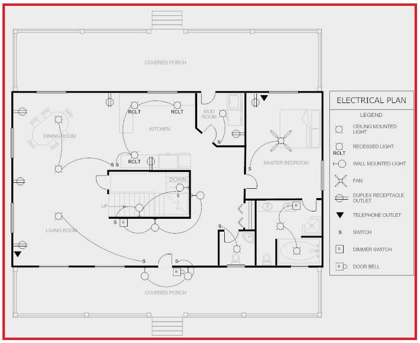 Electrical Plan House Wiring Diagram