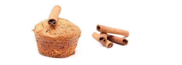 Muffins aux pommes caramélisées