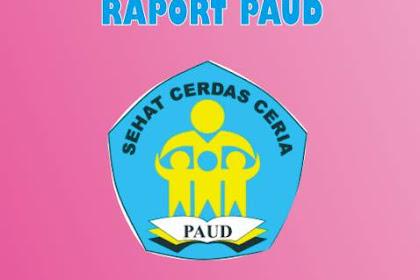 Rapor PAUD Kurikulum 2013