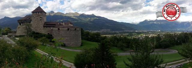 Castillo de los Príncipes de Vaduz, Liechtenstein