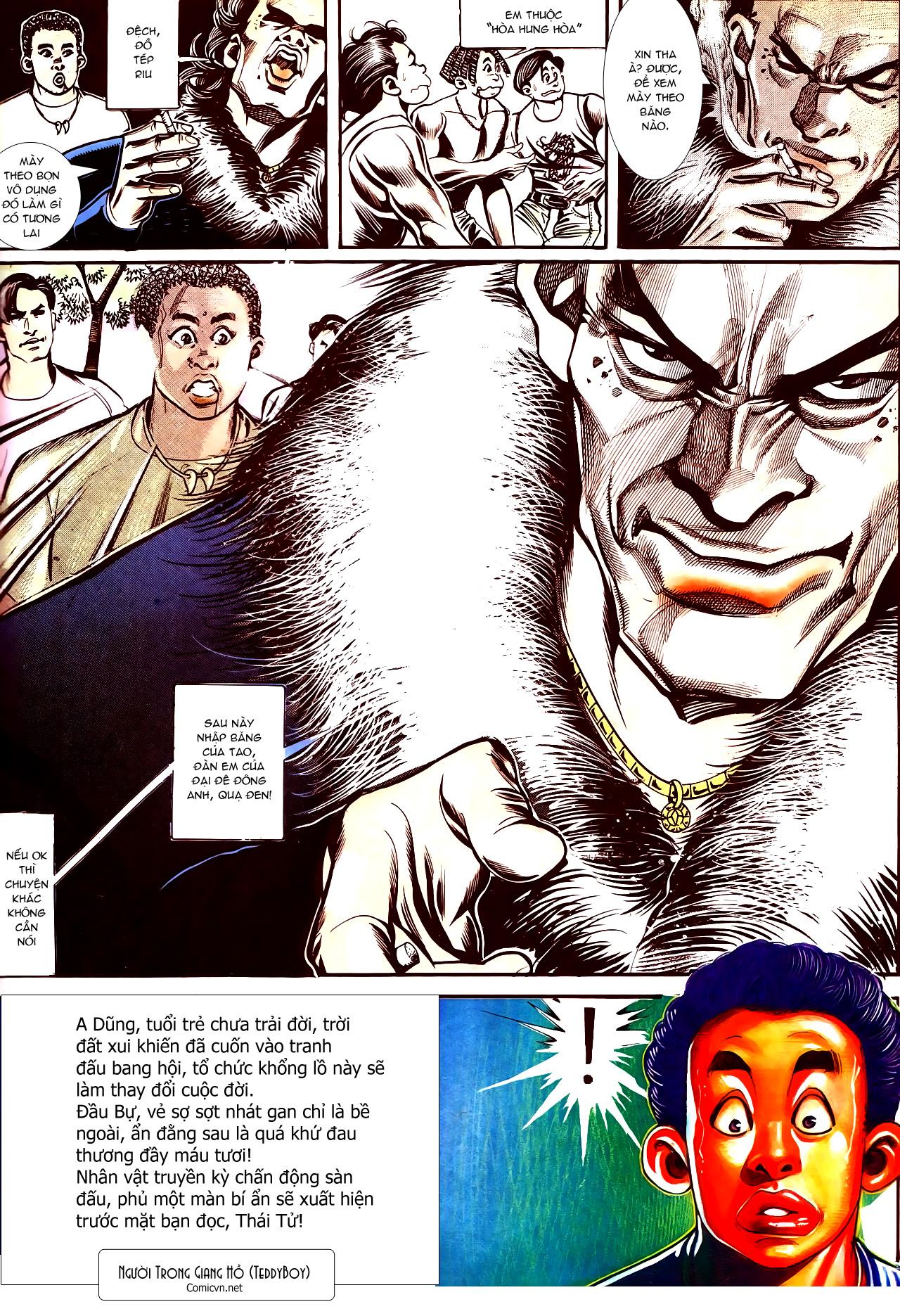 Người Trong Giang Hồ chapter 150: ai không yêu anh hùng trang 30