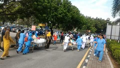 6 Disahkan Maut Dalam Kebakaran di Hospital Sultanah Aminah (HSA)