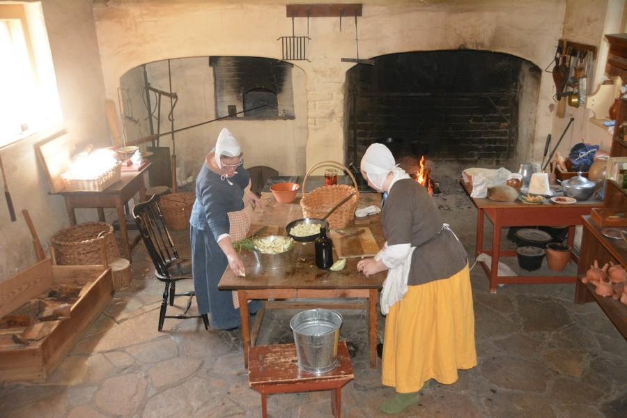 Cuisine comme avant Old Salem