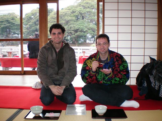 Te japonés en Hamariukyu koen