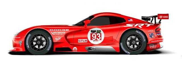 Dodge Viper SRT GTS-R
